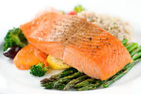 Salmon, an excellent source of Omega 3 fatty acids